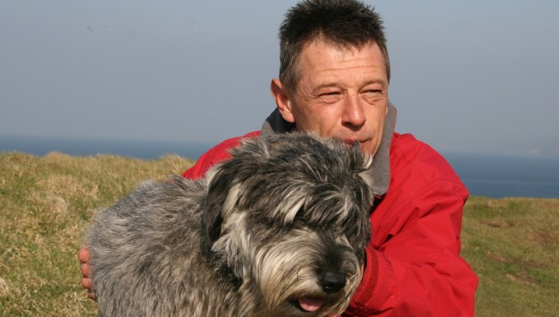 Andy With Buster
